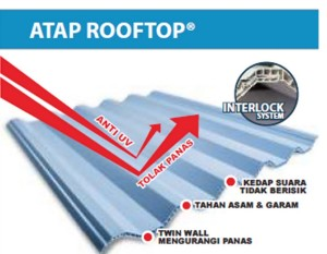 Atap rooftop alderon
