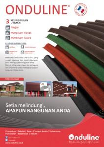 Jual Atap Onduline Indonesia