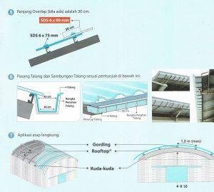 Petunjuk Instalasi Atap Rooftop_2