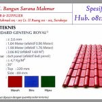 DISTRIBUTOR GENTENG ROYAL