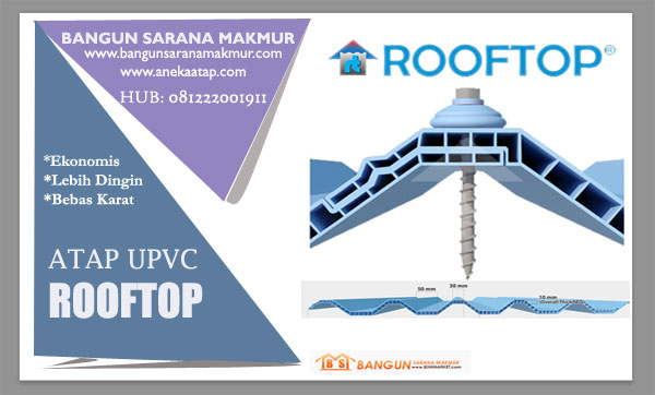 harga atap rooftop 2017