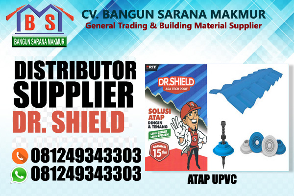 Atap UPVC DR. SHIELD